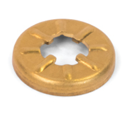 Top Cushion Cup - Brass, Click Action