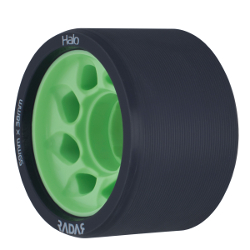 Halo Wheels 97A Green