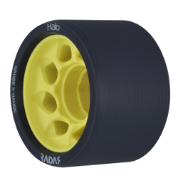 Halo Wheels 91A Yellow